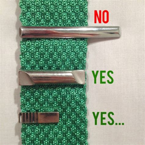 how to wear a tie bar correct clip posotion menswear