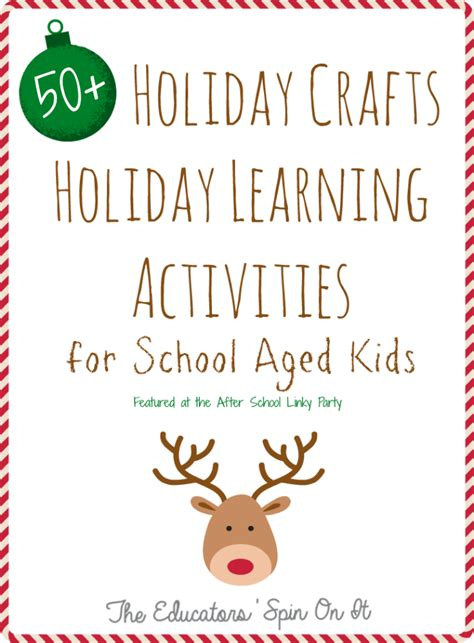christmas craft for school age the educators spin on it 50 activities for school aged