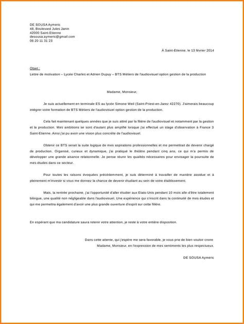 Lettre De Motivation Ecole Technique Ppt Lettre De Motivation Pour Ecole Bts