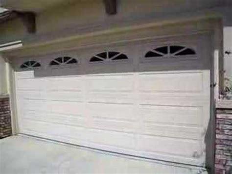 Garage Door Reverses When Closing by Garage Door