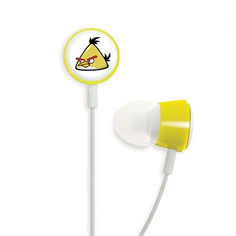 Earphone Angrybird gear4 gear4 hab006g angry birds in ear earphones yellow