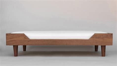 dog bed furniture handcrafted modern dog beds from bricker bark dog milk