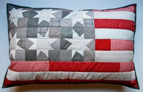 Uk Pillow Size by Patriotic Pillow With Wonky 18 Quot X 28 Quot It Is The