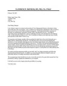 case management executive cover letter sample resume