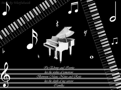 Piano Music Wallpapers Wallpaper Cave