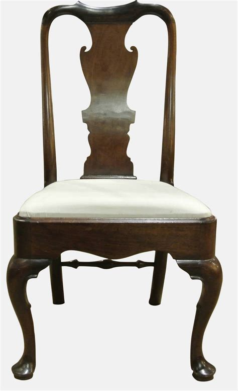 antique side chairs pair george i mahogany side chairs antiques atlas
