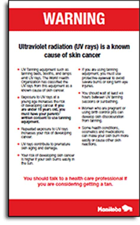 tanning bed laws by state guide to laws and regulations on use of tanning equipment