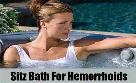 sitz bath for hemorrhoids in bathtub 6 home remedies for hemorrhoids diy find home remedies