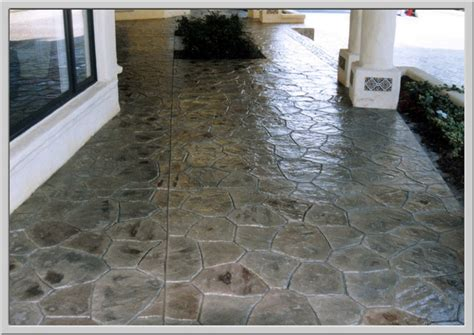 Concrete Overlays For Patios by Decorative Concrete Overlays Sted Stained Concrete