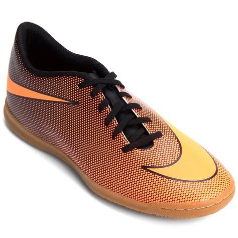 Nike Bravata Ic chuteira nike bravata 2 ic futsal laranja e preto