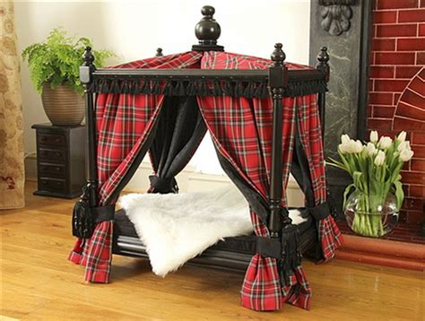 cat canopy bed pet canopy bed buy pawslife pet canopy bed from bed bath