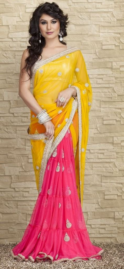 how to drape a lehenga style saree different styles of draping sari