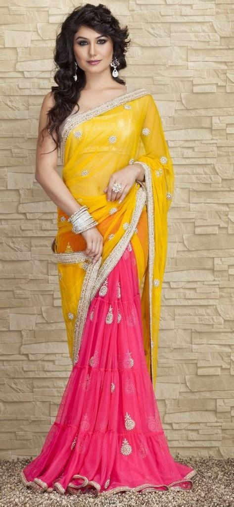 lehenga saree draping different styles of draping sari