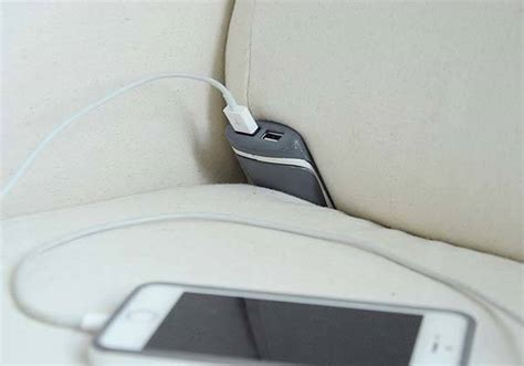 sofa with charging station couchlet usb charger turns your sofa into a charging