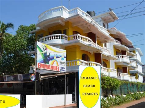 agoda unionbank emmanuel beach resort baga goa india great