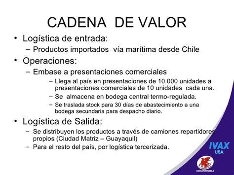 cadena de valor farmaceutica chile