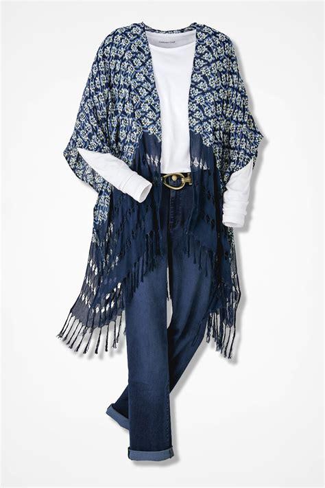 Scarf Vest 1 monterey fringed scarf vest coldwater creek