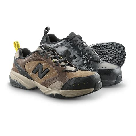 steel toe sneakers s new balance 627 steel toe work shoes brown 292168