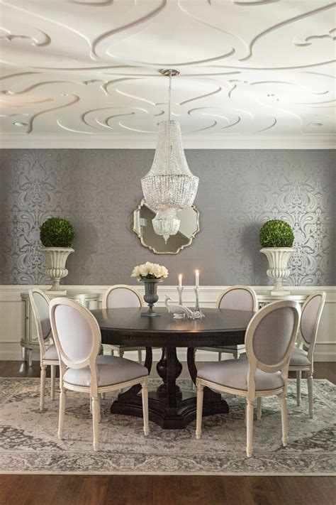 11 breathtaking dining room wallpapers