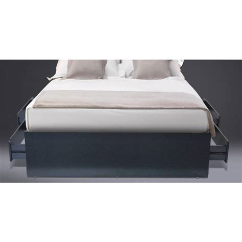 cradle black bed frame with storage drawers buy