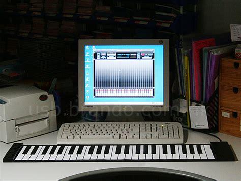Keyboard Piano Komputer usb roll up piano
