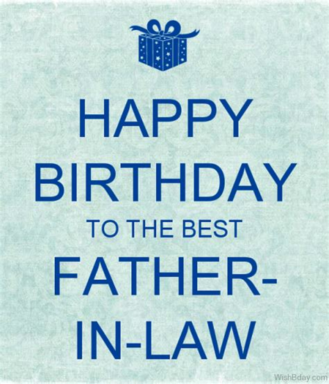 in law 42 father in law birthday wishes