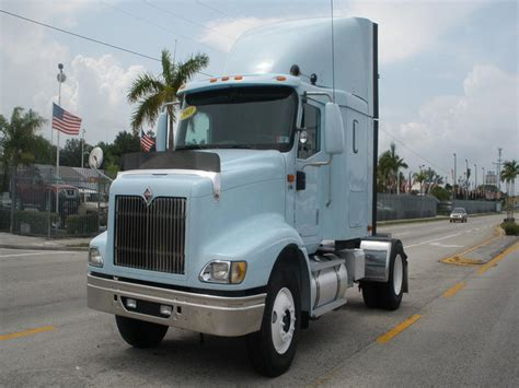 used single axle sleepers semi trucks for sale