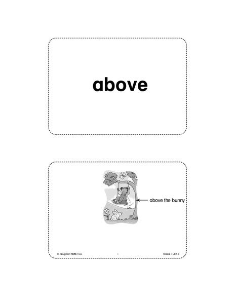 vocabulary card template pdf math vocabulary worksheet template with math