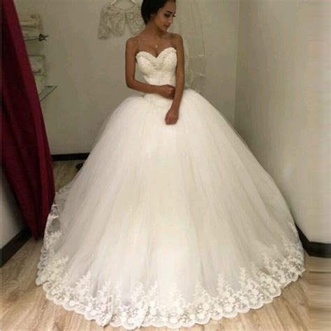 Brautkleid Ballkleid by 2016 Chiffon Princess Gown Wedding Dress
