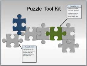 Powerpoint Jigsaw Puzzle Template Free by Puzzle Pieces Toolkit For Powerpoint Presentations