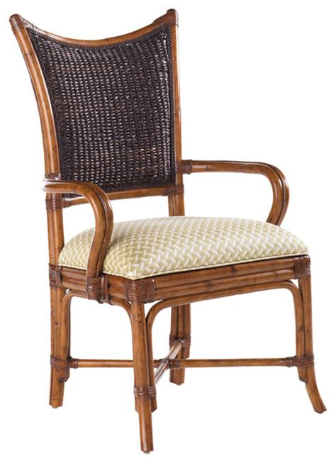 bahama island estate mangrove arm chair set of 2