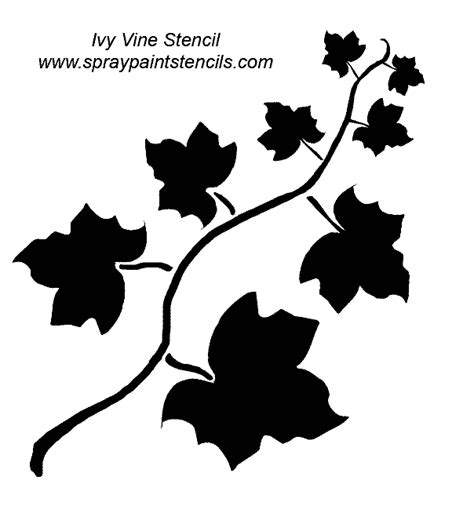 printable vine stencils stencil requests for october 2006