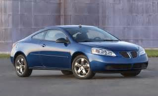 08 Pontiac G6 Gt Car And Driver