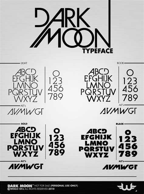 a dark wedding font dark moon typeface fonts on creative market