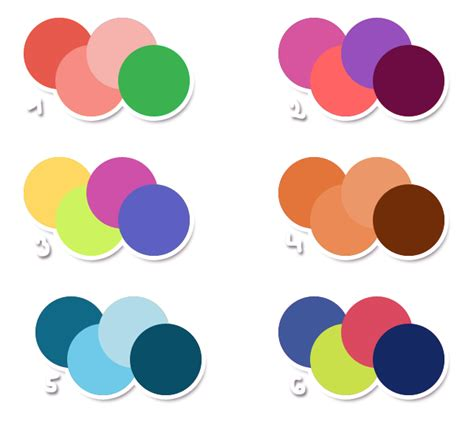 cool 2 color combinations free color schemes by metterschlingel on deviantart