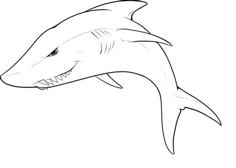 shark coloring pages great white shark coloring pages
