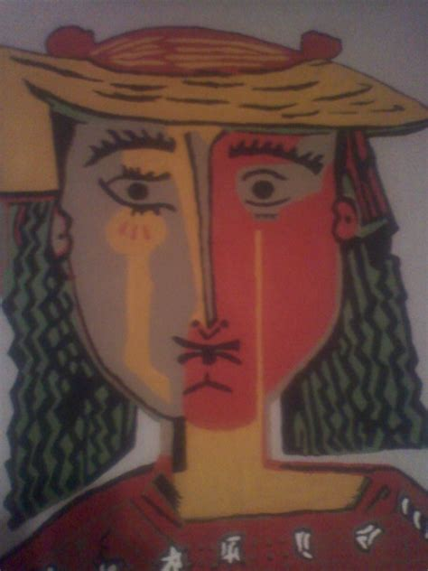 Unsigned Painting Pablo Picasso Club