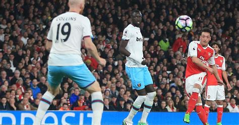 arsenal west ham highlights arsenal 3 0 west ham live score and goal updates from