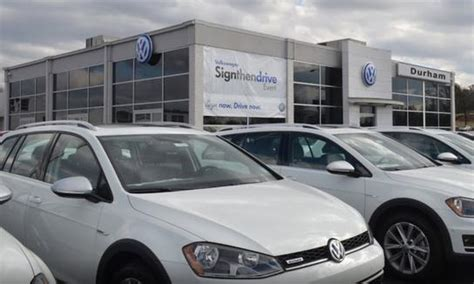 durham volkswagen durham nc  car dealership  auto financing autotrader