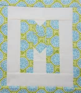 easy as abc qal letter m blossom quilts