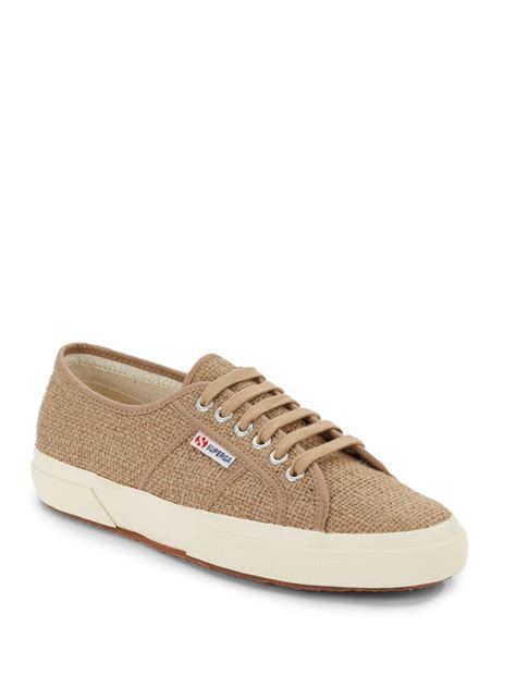 sneakers for lyst superga jutau jute sneakers in for