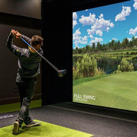 golf swing simulator golf simulator comparison swing golf simulator models