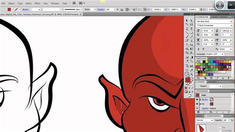how to doodle in illustrator ultimate inking and coloring tutorial for adobe