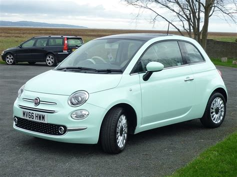 fiat green used smooth mint green fiat 500 for sale cheshire