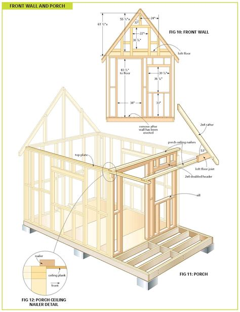 Free Cabin Blueprints by Bunkie Floor Plans Joy Studio Design Gallery Best Design