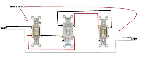 4 way switch light wiring diagram get free image about