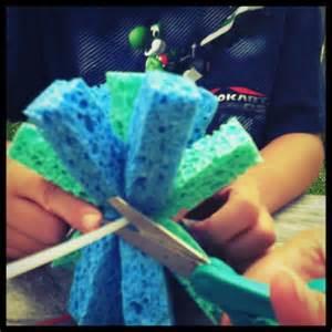 craft for boys how to make summer sponge balls