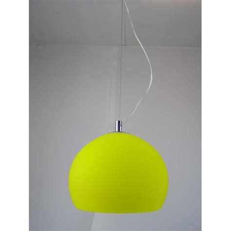 Retro Ceiling Lights Retro Lighting Lpendelyellow 1 Light Modern Ceiling Pendant Yellow And Polished Chrome Finish