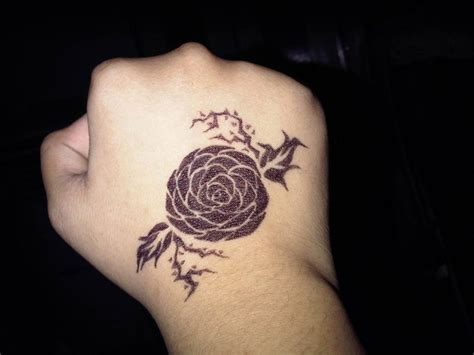 tattoo pen rose rose pen tattoo by kitty614 on deviantart