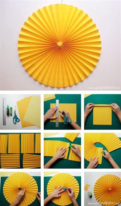 como decorar una con motivos c 243 mo hacer rosetas o medallones de papel para decorar tus fiestas medallones de papel